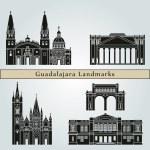 Постер, плакат: Guadalajara Landmarks and Monuments