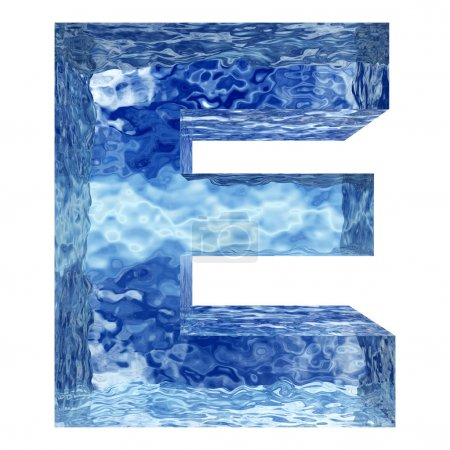 water or ice font set