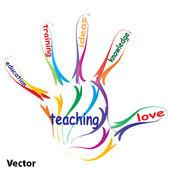 education concept text