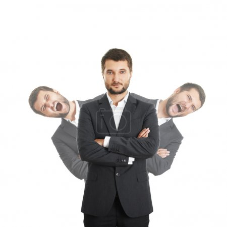 men behind sure businessman