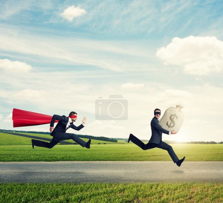 glad thief and superman