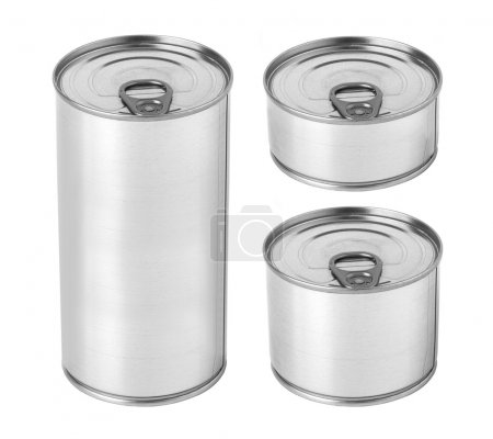 Tin can with ring pul
