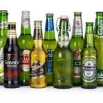 Постер, плакат: bottles of assorted cold beers