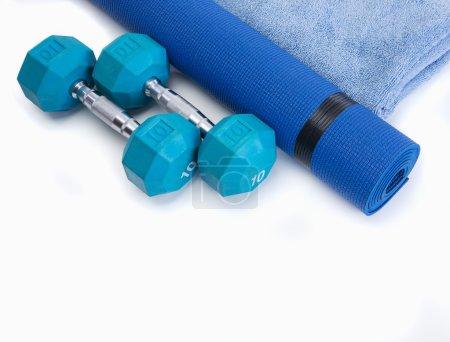Photo pour Workout tools for healthy male results - image libre de droit
