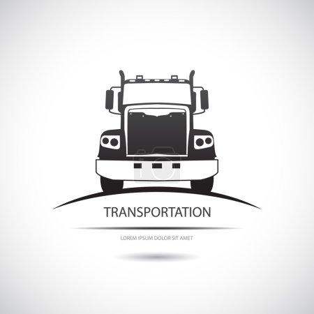 Illustration pour Icône camion. Vecteur . - image libre de droit