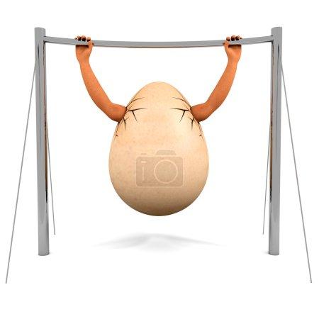 chinning egg