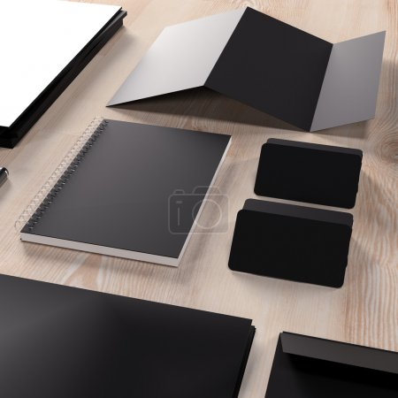 Photo for Mockup business template. High resolution. - Royalty Free Image