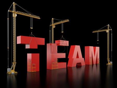 Team building.