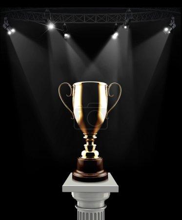 Winner cup.