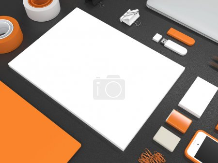 Mockup business template