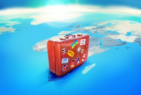 Luggage. Travel concept,