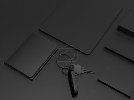 Every day carry . Mockup business template.