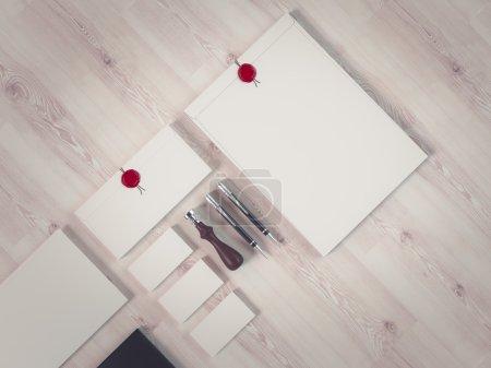 Photo pour Entreprise de modèle pour l'image de marque. Haute résolution. 3D - image libre de droit