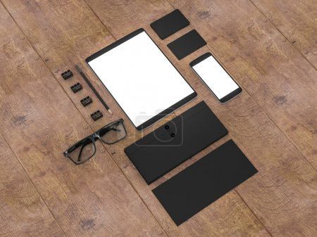 Business template.