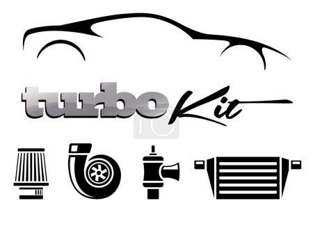 Vehicle Modification Turbo Kit