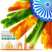 Legendy na indické pozadí ukazuje vývoj Indie