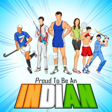 India sportsperson from different field is proud to be an Indian