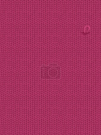 Knitted purple background