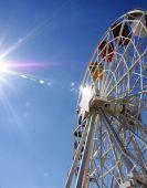 Waterwheel v parku Tibidabo