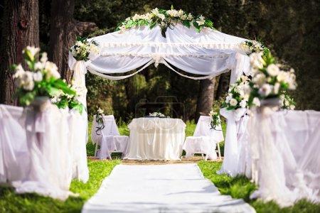 Photo pour Lieu de mariage - image libre de droit