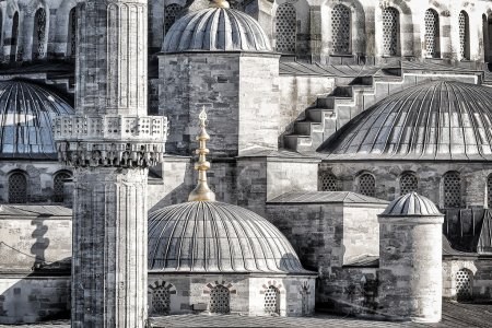 Blue Mosque background