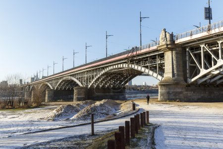 Bridge of Poniatowski in Warsaw