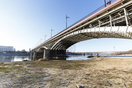 Poniatowski Bridge, Warsaw, Poland