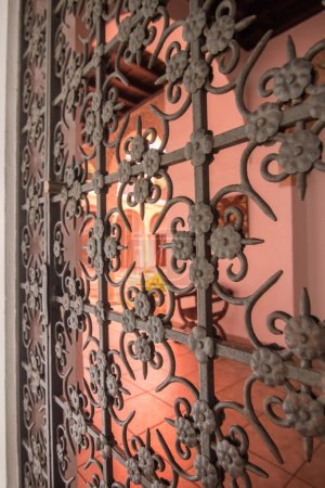 Photo for Grate to protect Andalusian unpatio - Royalty Free Image
