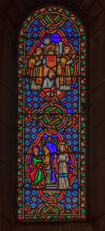 Stained Glass in Saint Nicholas