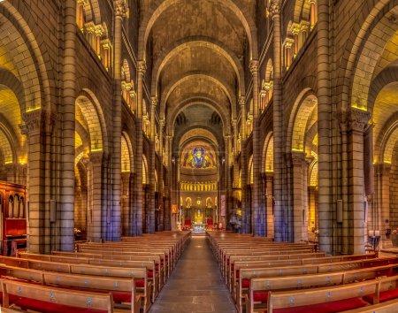 Saint Nicholas Cathedral in Monaco Ville