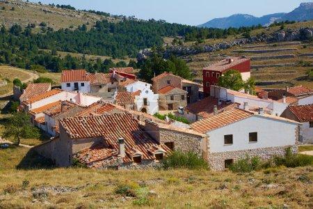 Corratxar village in Tinenca Benifassa of Spain