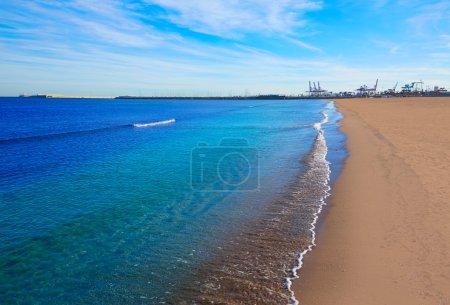 Valencia Malvarrosa beach Las Arenas Spain
