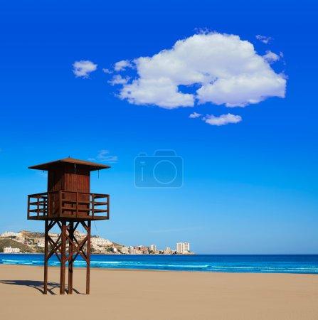 Cullera Sant Antoni beach San Antonio in Valencia