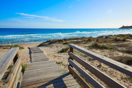 Cullera Dosel beach Mediterranean valencia
