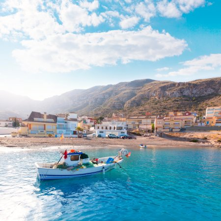 La Azohia beach Murcia in Mediterranean Spain