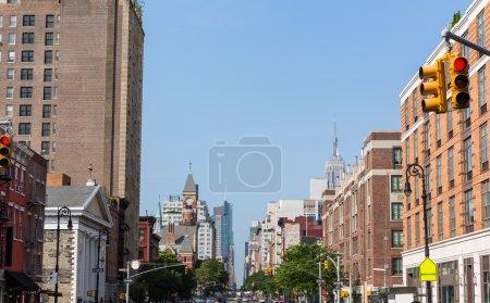 Photo pour West Village à New York Manhattan façades USA NYC - image libre de droit