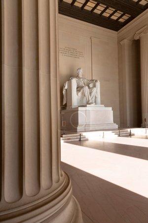 Abraham Lincoln Memorial building Washington DC