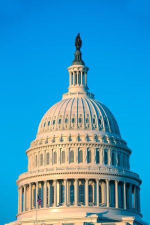 Capitol building dome Washington DC US congress