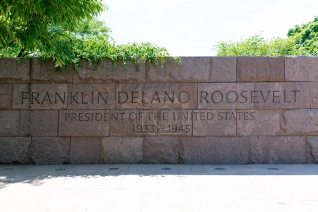 Franklin Delano Roosevelt Memorial Washington