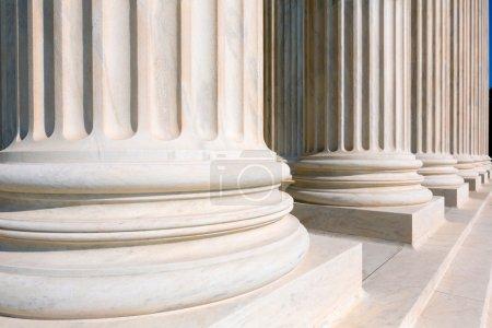 Supreme Court of United states columns row