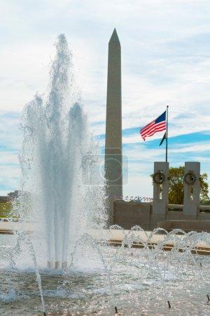World War II Memorial in washington DC US