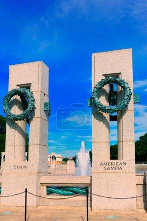 World War II Memorial in washington DC USA