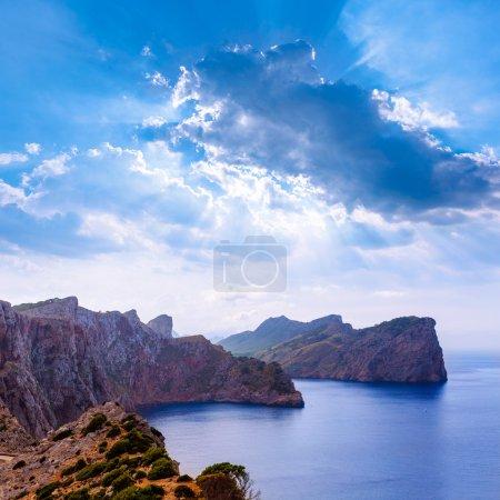 Majorca Formentor Cape in Mallorca Balearic island