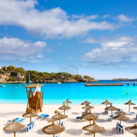 Majorca Porto Cristo beach in Manacor at Mallorca
