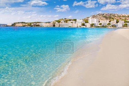 Mallorca Cala Santa Ponsa Ponca beach in Majorca