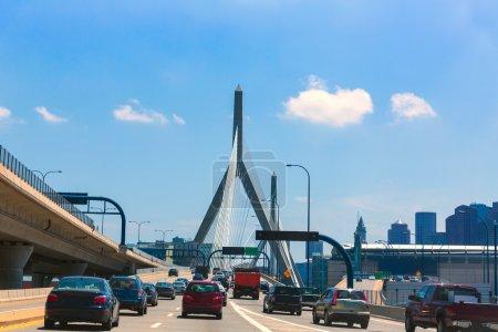 Boston Zakim Brücke in Bunker Hill massachusetts