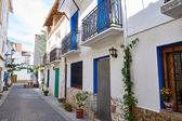 Aras de los Olmos village street  in Valencia