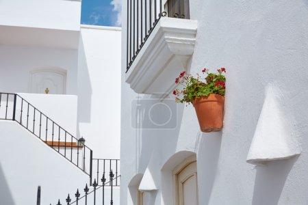 Mojacar Almeria white Mediterranean village Spain