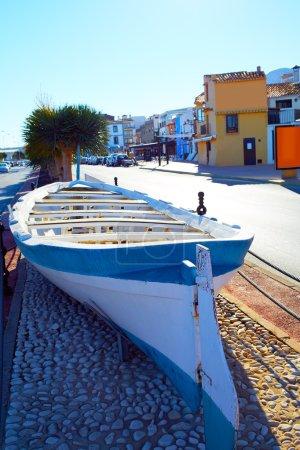 Denia Village mediterranean facades in Alicante