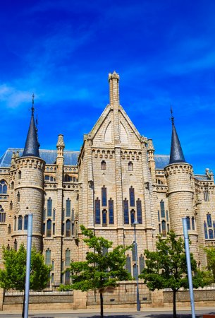 Astorga Leon Palacio Episcopal of Antoni Gaudi